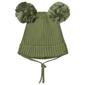 Mini Rodini Unisex Headwear Green Ear Hat Green