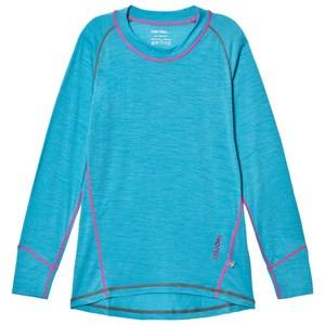 Isbjörn Of Sweden Unisex Baselayers Blue Husky Sweater Baselayer Turquoise