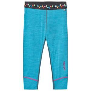 Isbjörn Of Sweden Unisex Baselayers Blue Husky Longjohn Baselayer Turquoise
