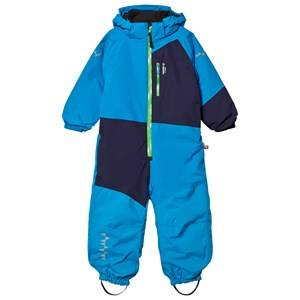 Isbjörn Of Sweden Unisex Coveralls Blue Halfpipe Winter Jumpsuit Turquoise