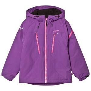 Isbjörn Of Sweden Girls Coats and jackets Purple Carving Winter Jacket Purple