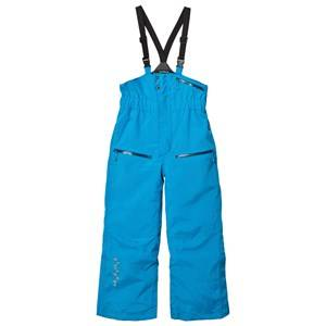 Isbjörn Of Sweden Boys Bottoms Blue Powder Winter Pants Turquoise