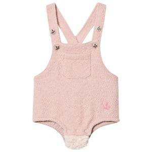 Noe & Zoe Berlin Girls All in ones Pink Pink Furry Overalls