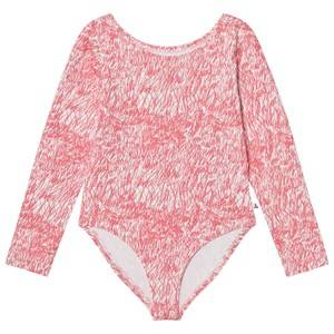 Noe & Zoe Berlin Girls All in ones Pink Pink Fur Printed Leotard
