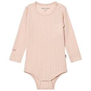 Mini A Ture Girls All in ones Pink Emmely Baby Body Rose Dust