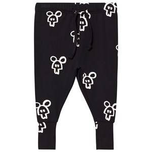 Koolabah Unisex Bottoms Black Black Mouse In Da House Legging