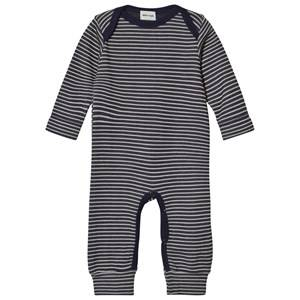 Mini A Ture Unisex All in ones Navy Joa One-Piece Blue Nights