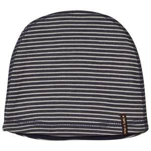 Mini A Ture Unisex Headwear Navy Barrit Beanie Blue Nights