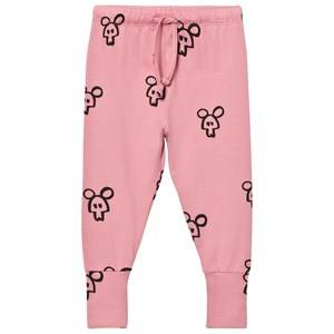 Koolabah Girls Bottoms Pink Pink Mouse In Da House Legging