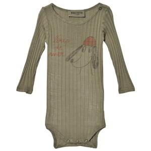 Bobo Choses Unisex All in ones Green Baby Body Loup De Mer