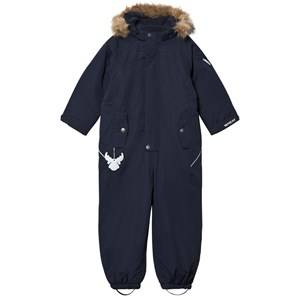 Wheat Unisex Coveralls Navy Snowsuit Miley Navy