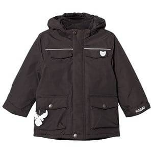 Wheat Unisex Coats and jackets Black Jacket Sander Charcoal
