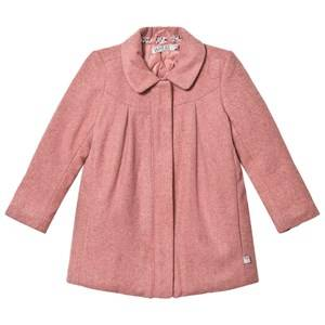 Wheat Girls Coats and jackets Pink Wool Jacket Agate Soft Rouge