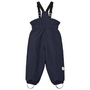 Wheat Unisex Bottoms Navy Ski Pants Elastic Navy