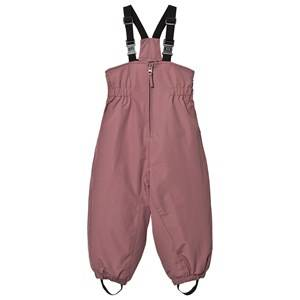 Wheat Girls Bottoms Purple Ski Pants Elastic Plum