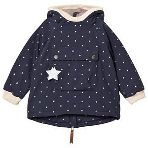 Mini A Ture Unisex Coats and jackets Navy Baby Wen, B Jacket Blue Nights