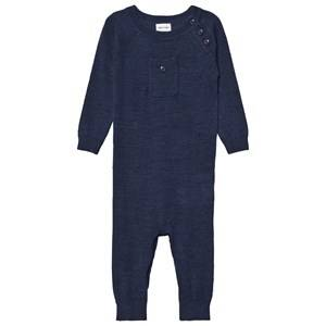 Mini A Ture Boys All in ones Blue Bigge One-Piece Mood Indigo