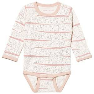 Mini A Ture Unisex All in ones Pink Yomi Baby Body Rose Dust