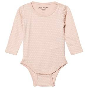 Mini A Ture Girls All in ones Pink Ellis Baby Body Rose Dust