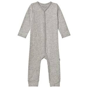 Mini A Ture Girls All in ones Grey Mattie One-Piece Light Grey