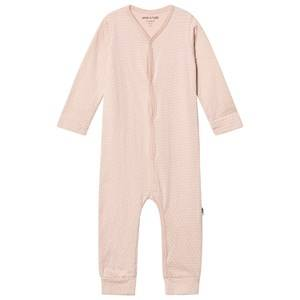 Mini A Ture Girls All in ones Pink Mattie One-Piece Rose Dust