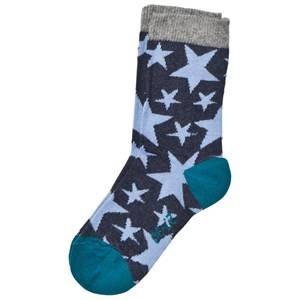 Melton Unisex Underwear Navy Star Socks Tahiti