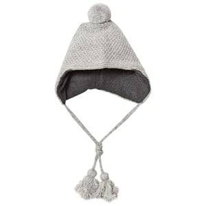 Melton Unisex Headwear Grey Lamb Wool Sailor Tassel Hat Light Grey