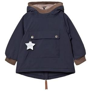 Mini A Ture Unisex Coats and jackets Navy Baby Wen B Jacket Blue Nights