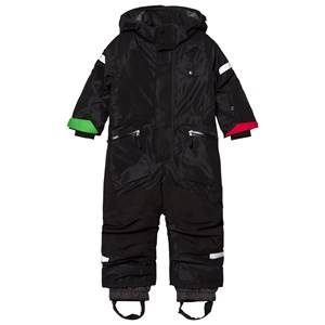 Didriksons Unisex Coveralls Black Ale Kids Coverall Black