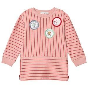 Stella McCartney Kids Girls Dresses Pink Pink Badge Stripe Dress