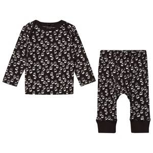 Stella McCartney Kids Girls Clothing sets Black Black All Over Print Set