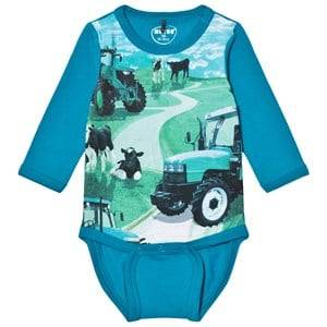 Me Too Unisex All in ones Blue Kani 222 Baby Body Caribbean Sea