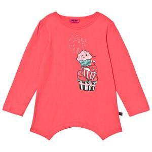 Me Too Girls Jumpers and knitwear Pink Kamma 224 Tunic Calypso Coral
