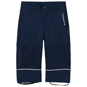 Geggamoja Boys Bottoms Blue All-Weather Pants Marin