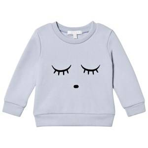 Livly Unisex Tops Blue Sweatshirt Sleeping Cutie/Ice Blue