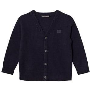 Acne Studios Unisex Jumpers and knitwear Navy Mini Neve Cardigan Navy