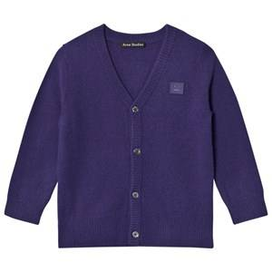 Acne Studios Unisex Jumpers and knitwear Blue Mini Neve Cardigan Royal Blue