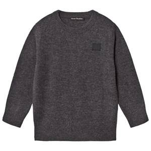 Acne Studios Unisex Jumpers and knitwear Grey Mini Nalon Sweater Charcoal Melange
