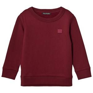 Acne Studios Unisex Jumpers and knitwear Red Mini Fairview Burgundy