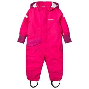 Didriksons Girls Coveralls Pink Duved Kids Coverall Fuchsia