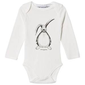 Kiss How To Kiss A Frog Unisex Baselayers White Baby Body Hare Print Off White