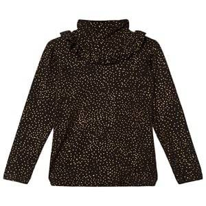 Soft Gallery Girls Tops Black Fayenne Top Jet Black Minidots