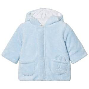 Emile et Rose Boys Fleeces Blue Lenny Fleece Coat Pale Blue