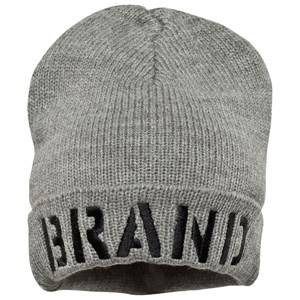 The BRAND Unisex Private Label Headwear Grey Winter Hat Grey Melange
