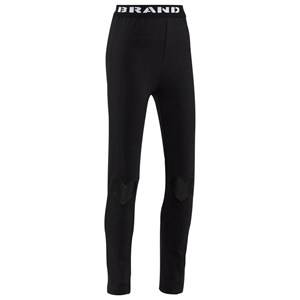 The BRAND Girls Private Label Bottoms Black Heart Tights Black