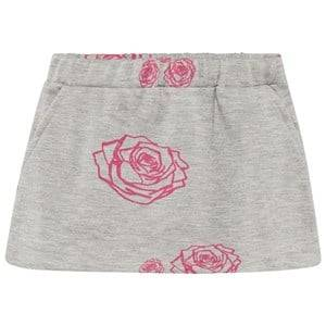 The BRAND Girls Private Label Skirts Grey Kit Skirt Grey Roses