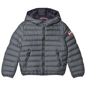 colmar Boys Coats and jackets Grey Titanium Empire Down Hooded Bomber Jacket