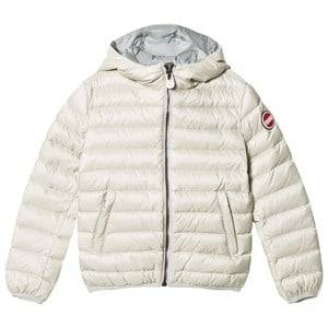 colmar Girls Coats and jackets Cream Pearl Odissey Down Hooded Bomber Jacket