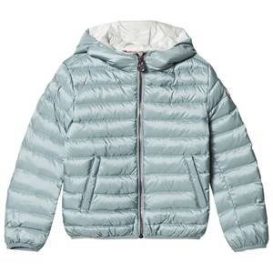 colmar Girls Coats and jackets Blue Polar Odissey Down Hooded Bomber Jacket