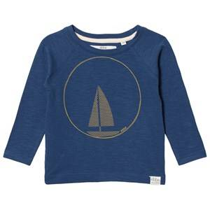 eBBe Kids Boys Commission Tops Blue Henry Raglan Tee Nordic Blue